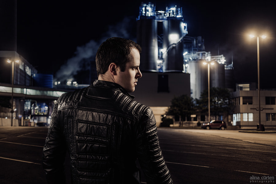 Photograph industrial portrait by Alina C�rten on 500px