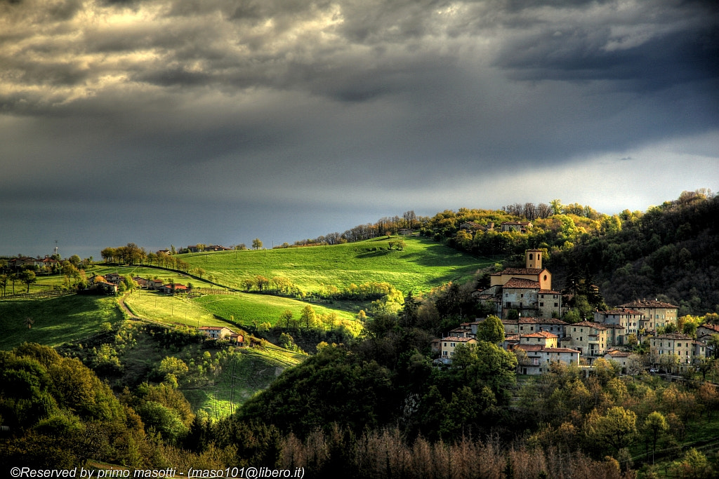 Photograph contrasts in spring Montecorone - (zocca modena italy)_1089_dvd 15 by primo masotti on 500px