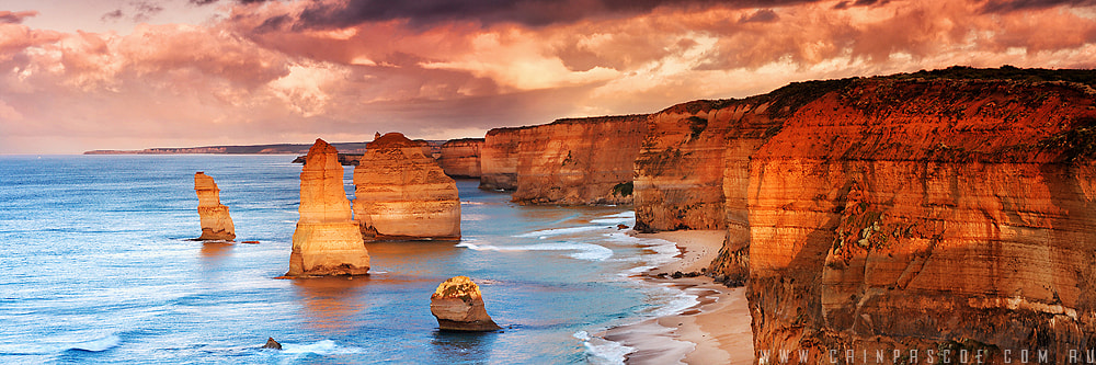 Photograph Sunlit Apostles by Cain Pascoe on 500px
