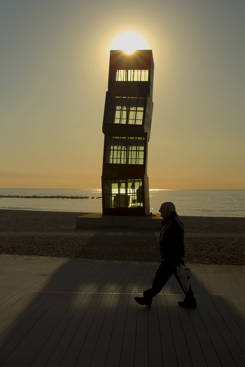 Photograph A morning in La Barceloneta by Andrés de León on 500px