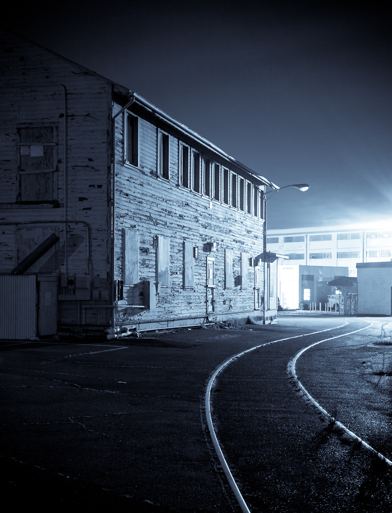 Photograph Building & Tracks by John Wright on 500px