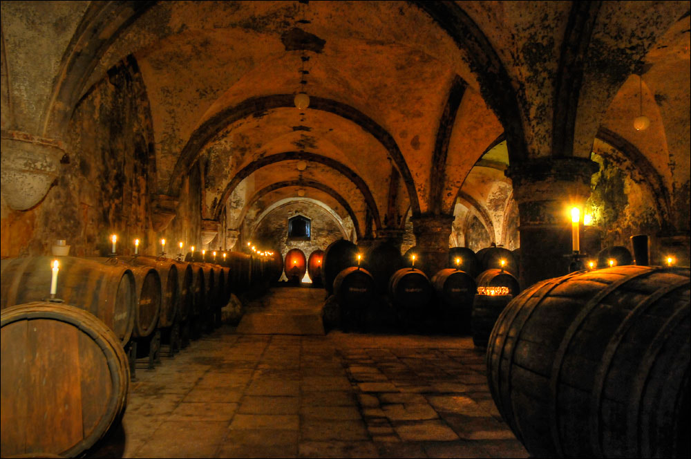 Photograph wine cellar monastery Eberbach, Germany by Thomas Münter on 500px
