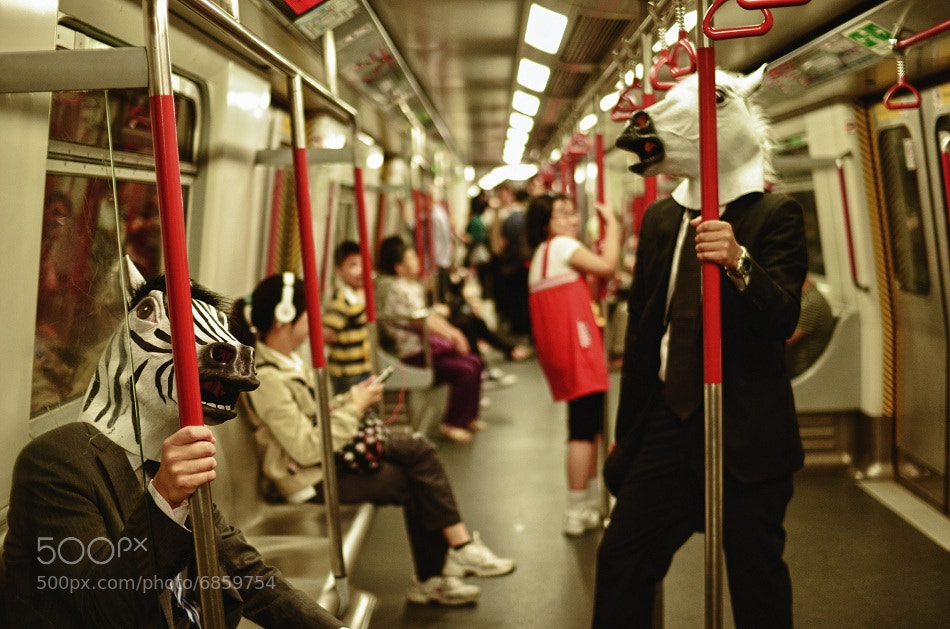 Photograph In the Train by Junites Uno on 500px