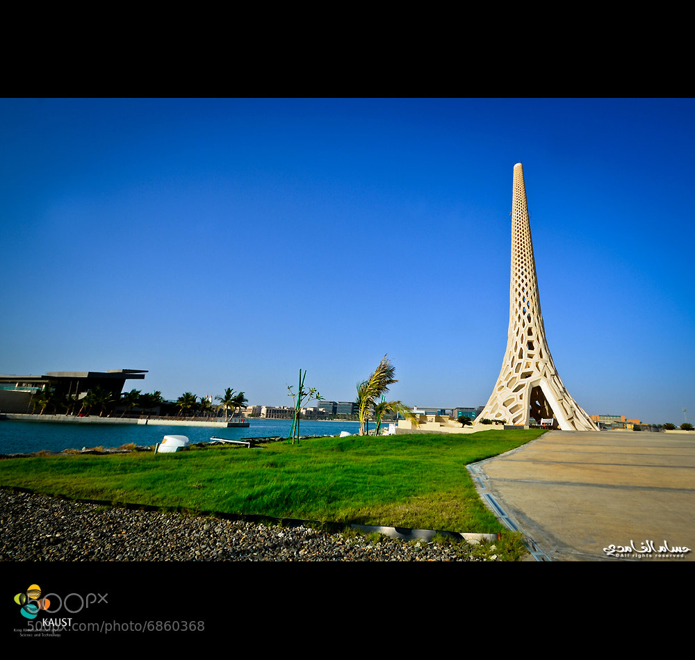 Photograph KAUST Breakwater Beacon by Hosam Al-Ghamdi on 500px