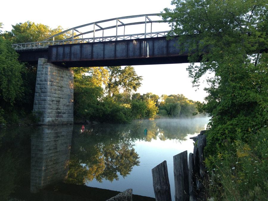 Sunrise on Scugog River by Jason Brain on 500px.com