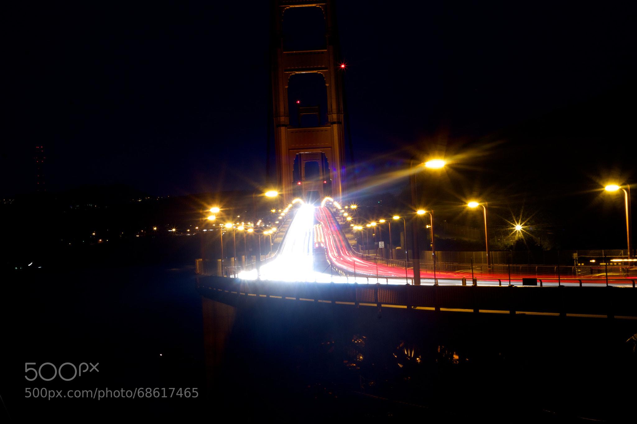 Photograph Traffic on the Golden Gate by Karthik Rangarajan on 500px