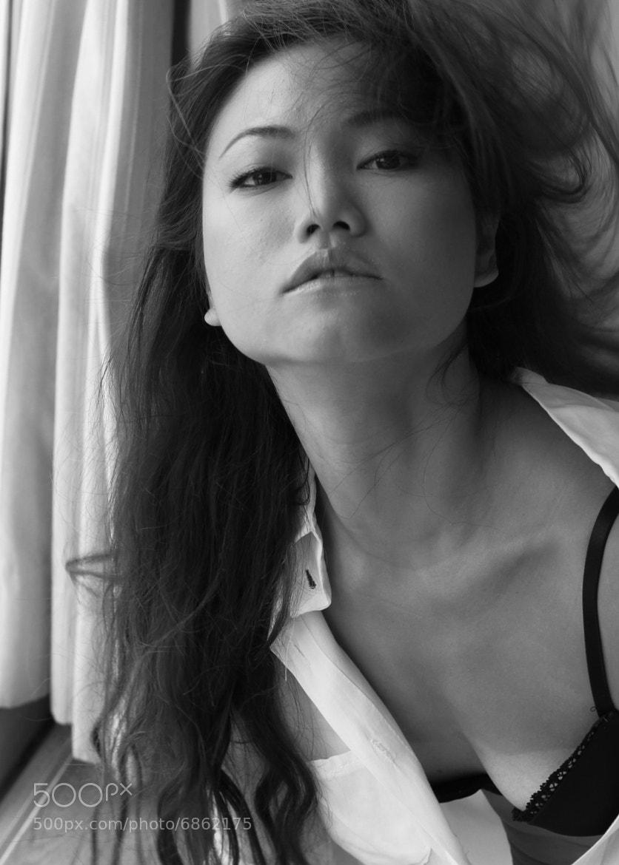 Photograph Self portrait - I don't care by Sunny Fsk Raymond on 500px