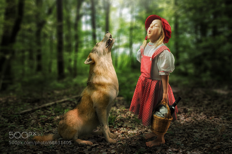 Photograph Sensitive little Rotkäppchen by John Wilhelm is a photoholic on 500px