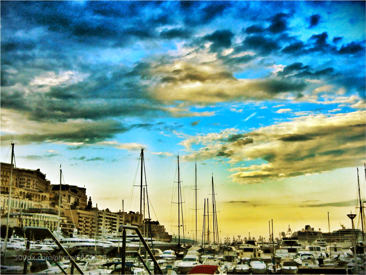 Photograph Monaco Sky by Brian Hamilton on 500px