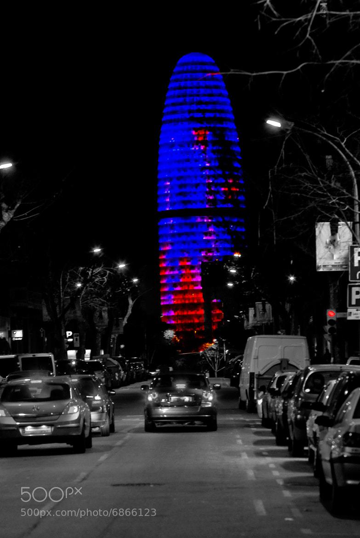 Photograph Torre Agbar by Juan Ballesteros López on 500px