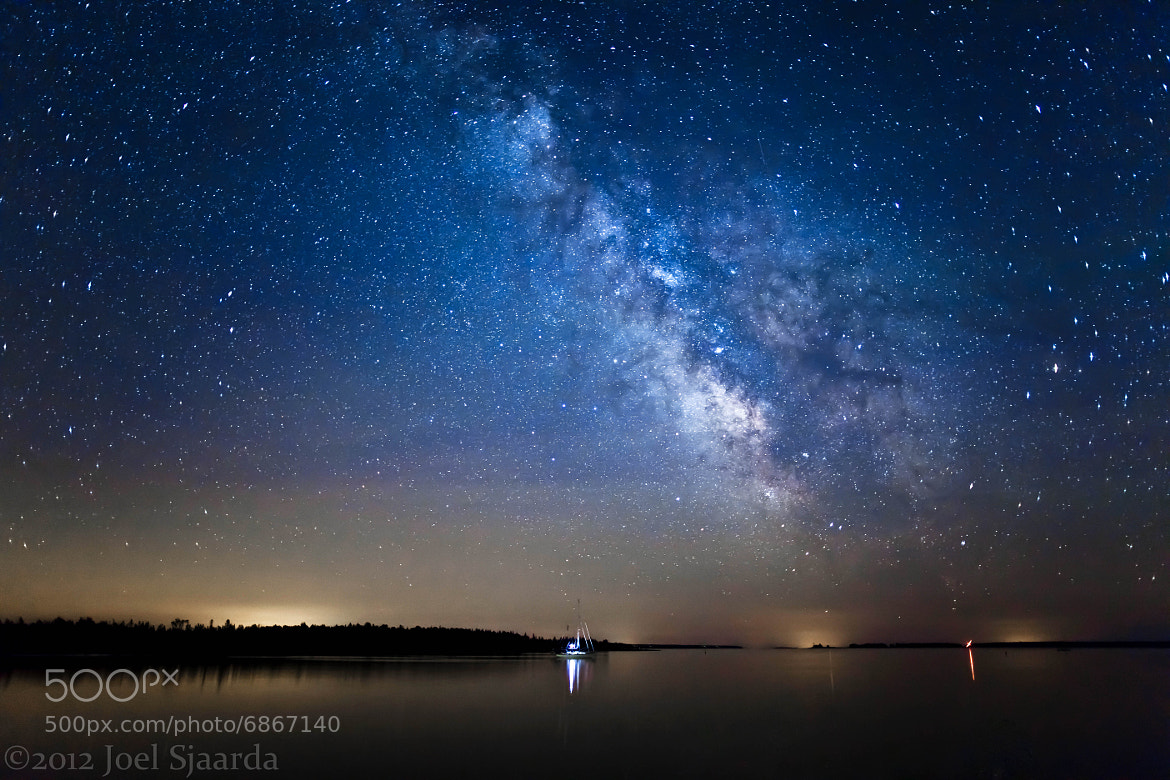 Photograph Sailing Under the Stars by Joel Sjaarda on 500px