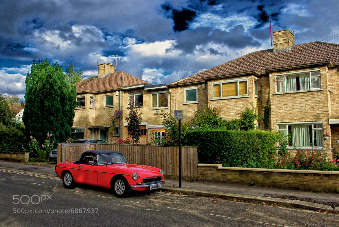 Photograph Red Car by Oscar Cardoso on 500px