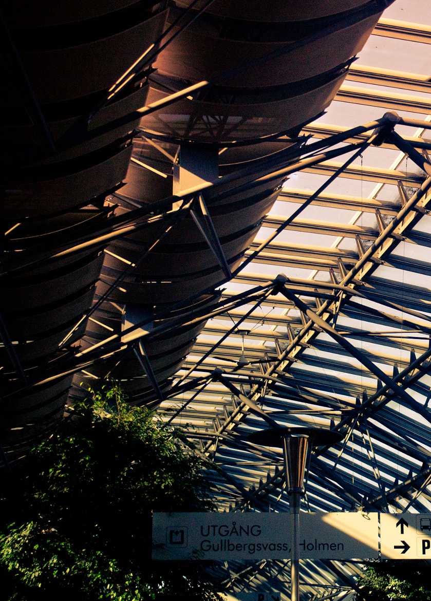 Photograph Station roof - Gothenburg by Matthias E on 500px