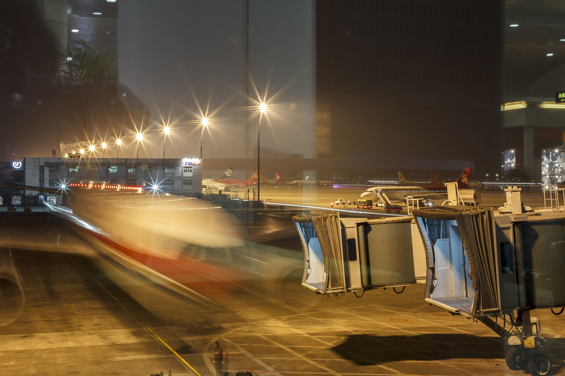 Photograph Airport Shenzhen by Philipp Nedomlel on 500px