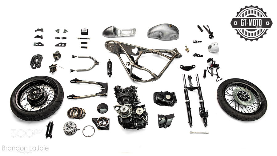 GT-MOTO Honda CB450 Raffle Bike