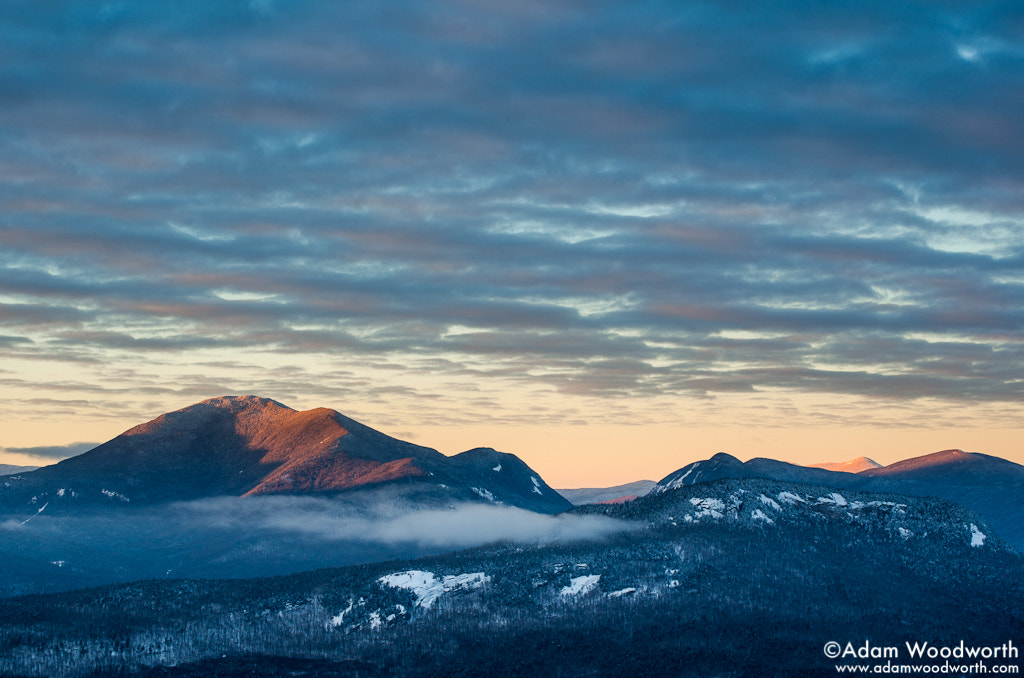 Photograph Mt. Carrigain and Carrigain Notch by Adam Woodworth on 500px
