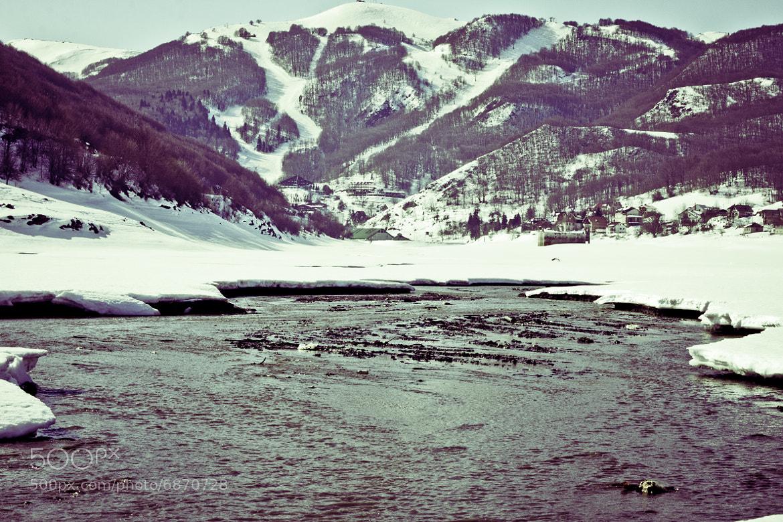 Photograph Mavrovo - Winter by Dejan  Boskovski on 500px
