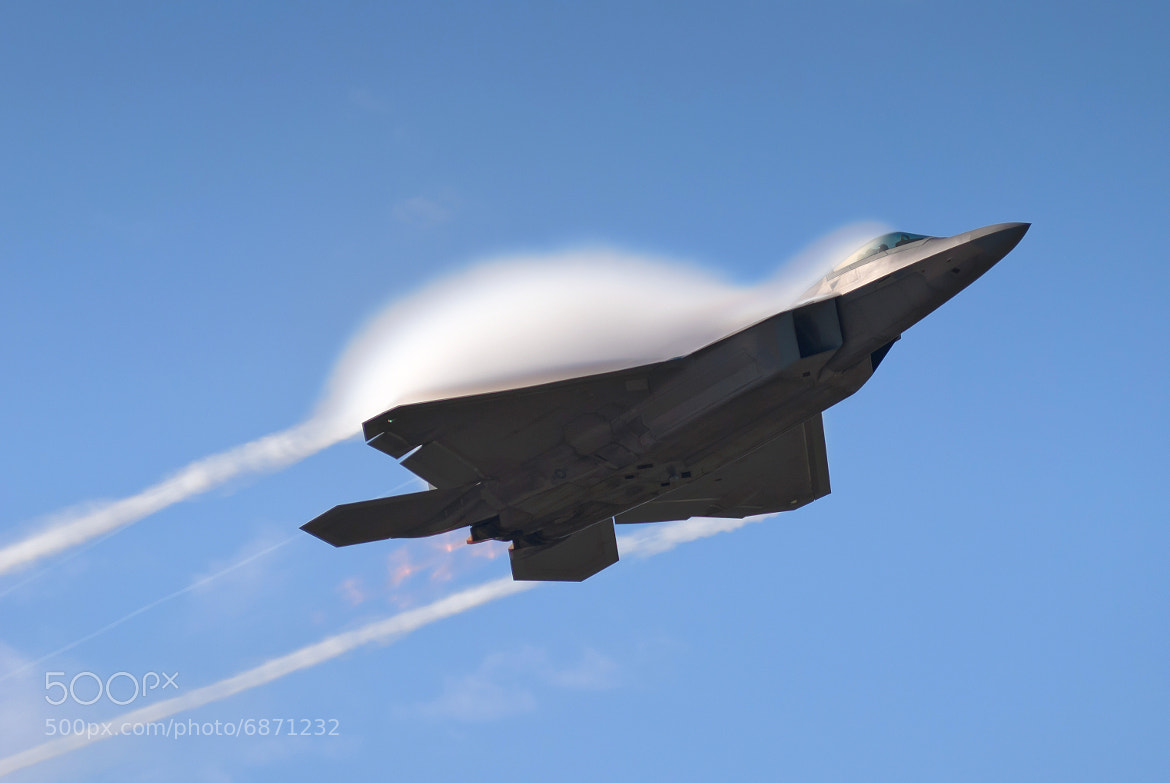 Photograph F-22 Vapor by Chris Buff on 500px