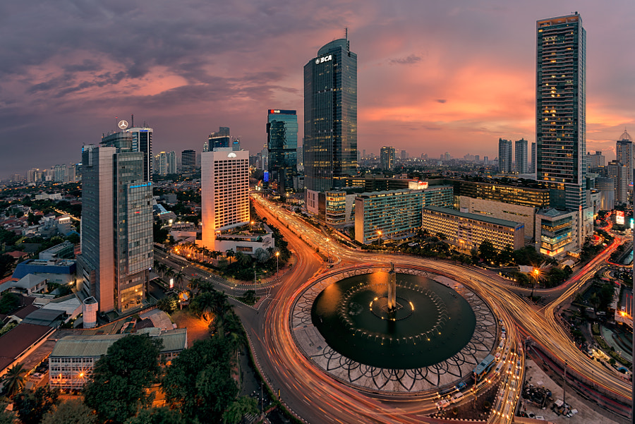 SCBD of Jakarta City by Felix Indarta on 500px.com