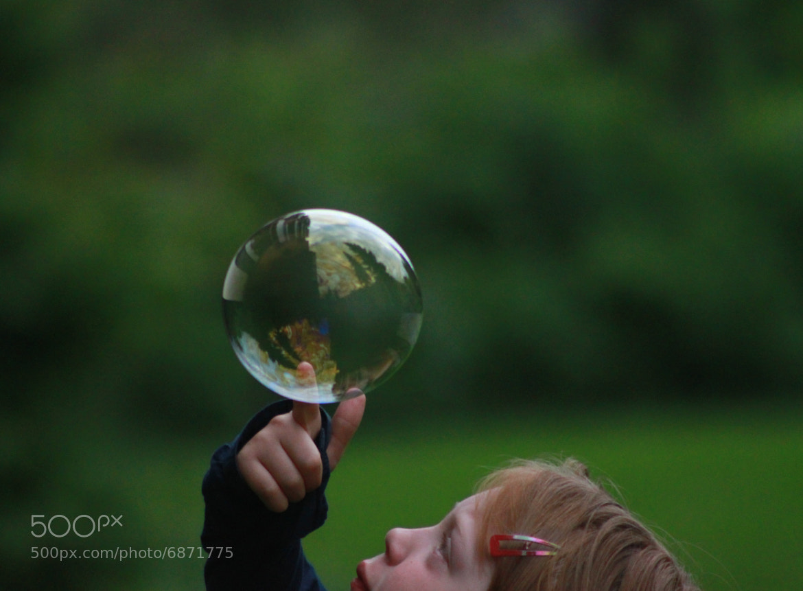 Photograph playing with soap bubbles by Keith Michel on 500px