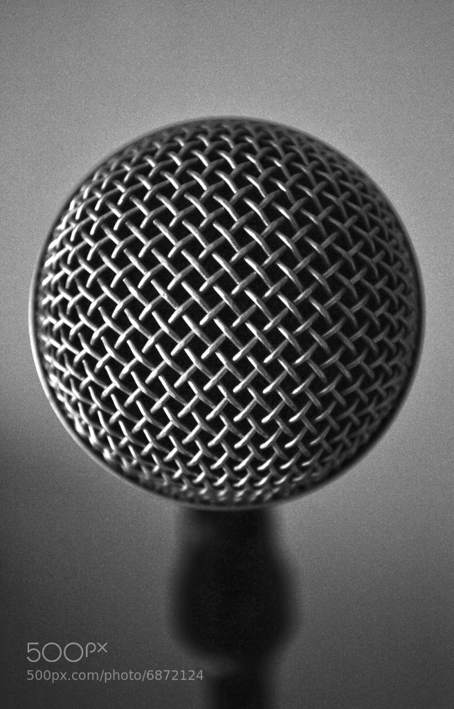 Photograph Microphone by Matthias E on 500px