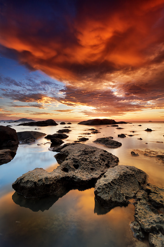 Photograph Burning Sky 2 by Bobby Bong on 500px