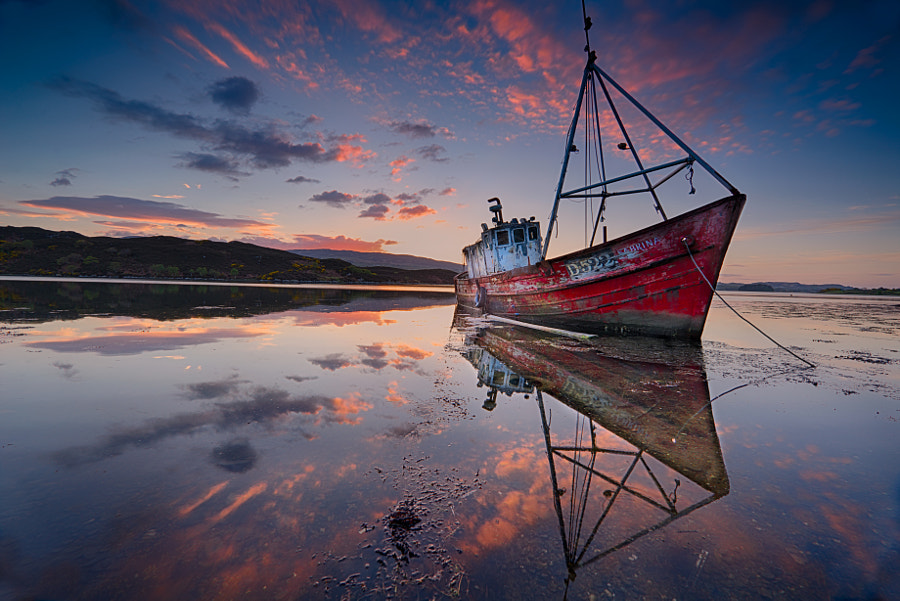 Photograph Sabrina's last anchorage by Trevor Cole on 500px