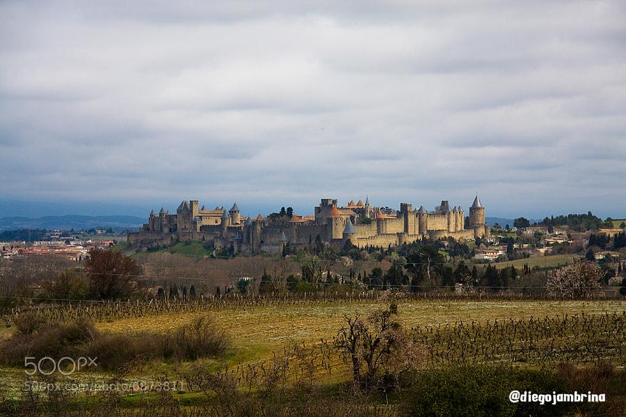 Carcassonne by Diego Jambrina (Elhombredemackintosh) on 500px.com