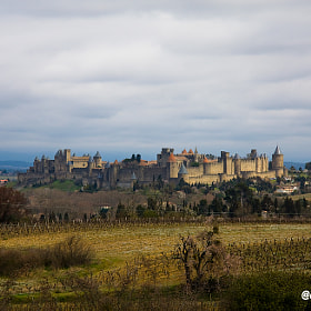 Carcassonne by Diego Jambrina (Elhombredemackintosh)) on 500px.com