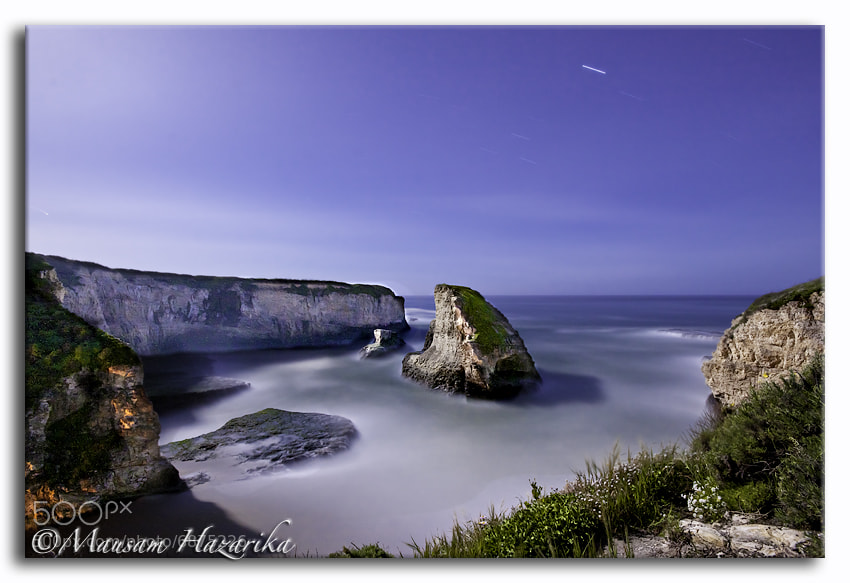 Photograph Moonlit Night At Shark Fin Cove by Mausam Hazarika on 500px
