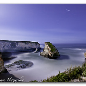 Moonlit Night At Shark Fin Cove by Mausam Hazarika (hazarika)) on 500px.com