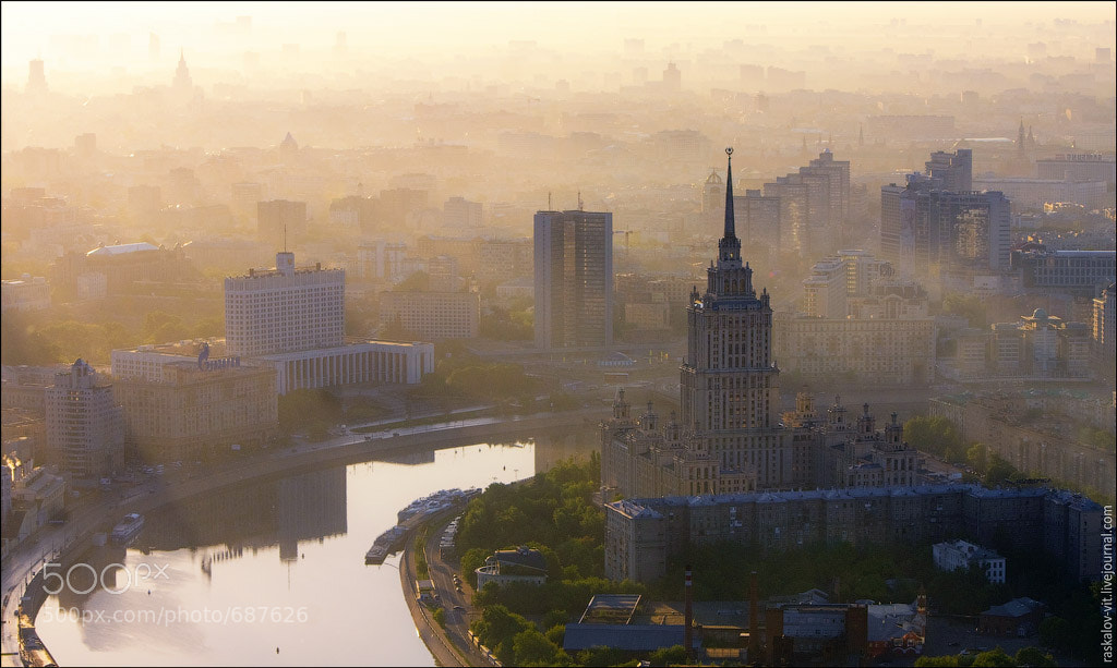 Photograph Moscow wind up by Vitaliy Raskalov on 500px