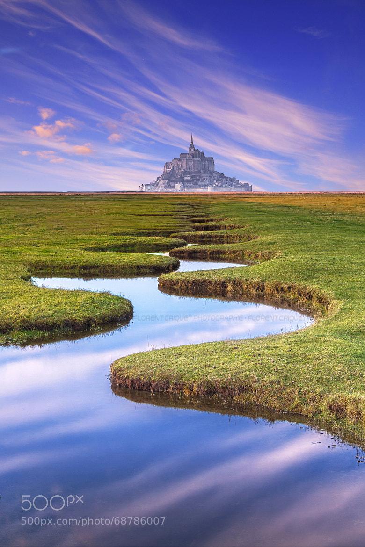 Photograph Mont Saint-Michel by Florent Criquet on 500px