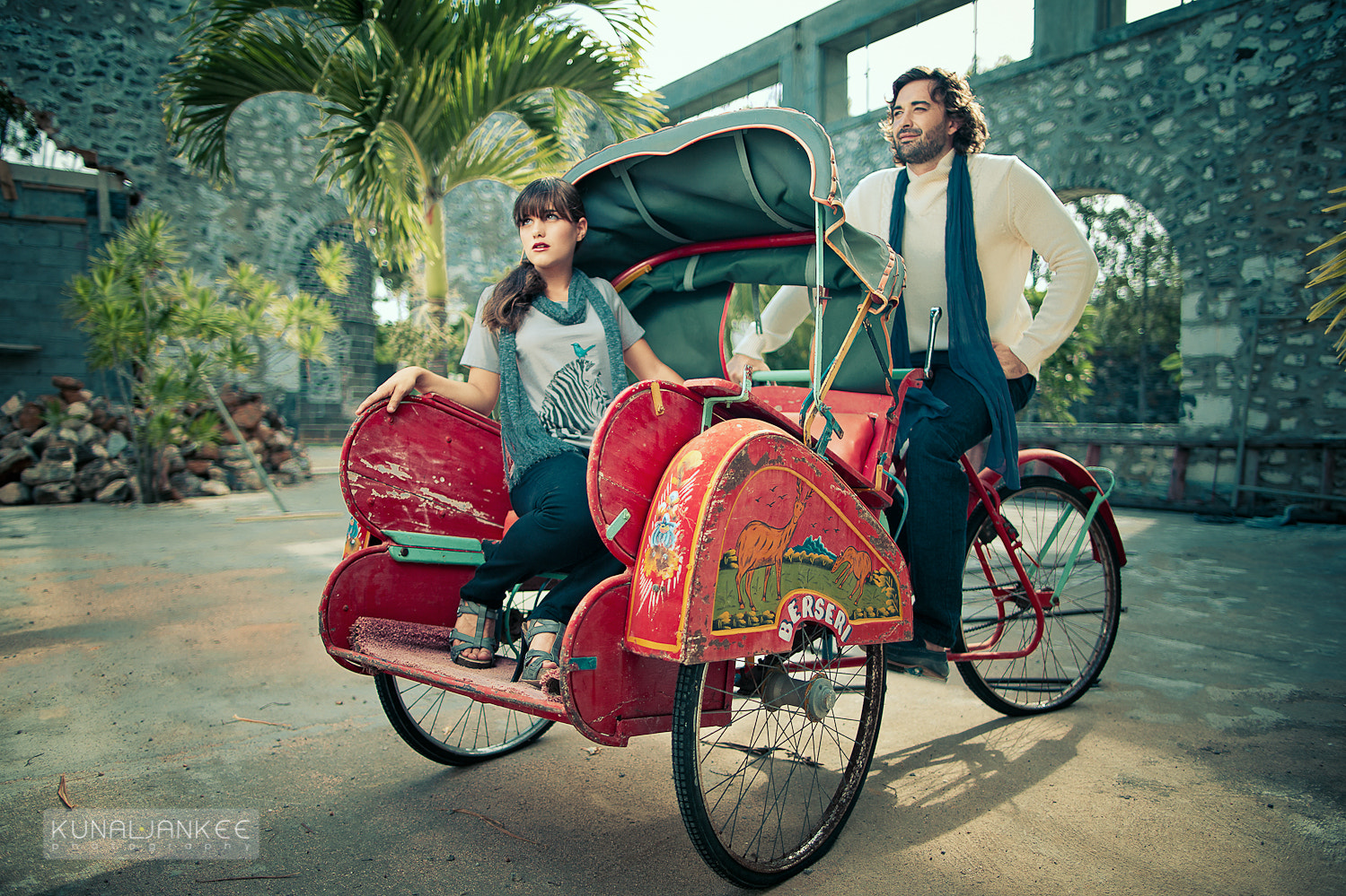 Photograph Tricycle ride by Kunal Jankee on 500px