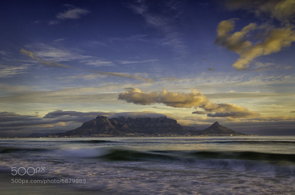Photograph Table Mountain by Michael Morris on 500px