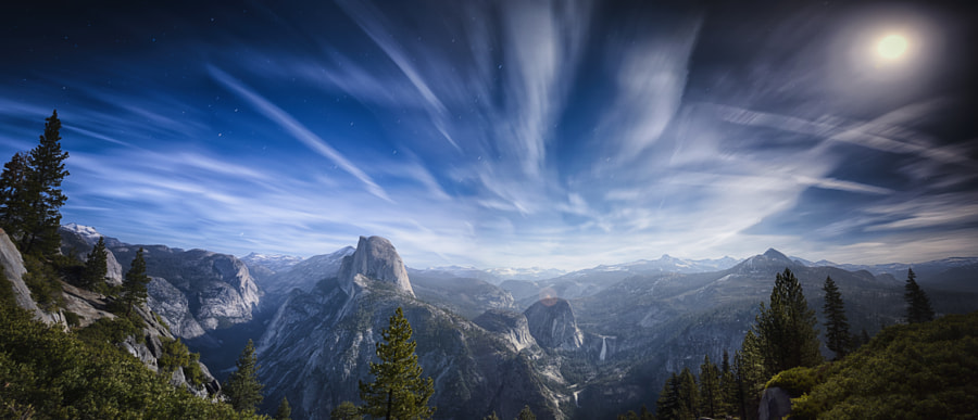 Glacier Point Night Panorama by James Forbes on 500px.com