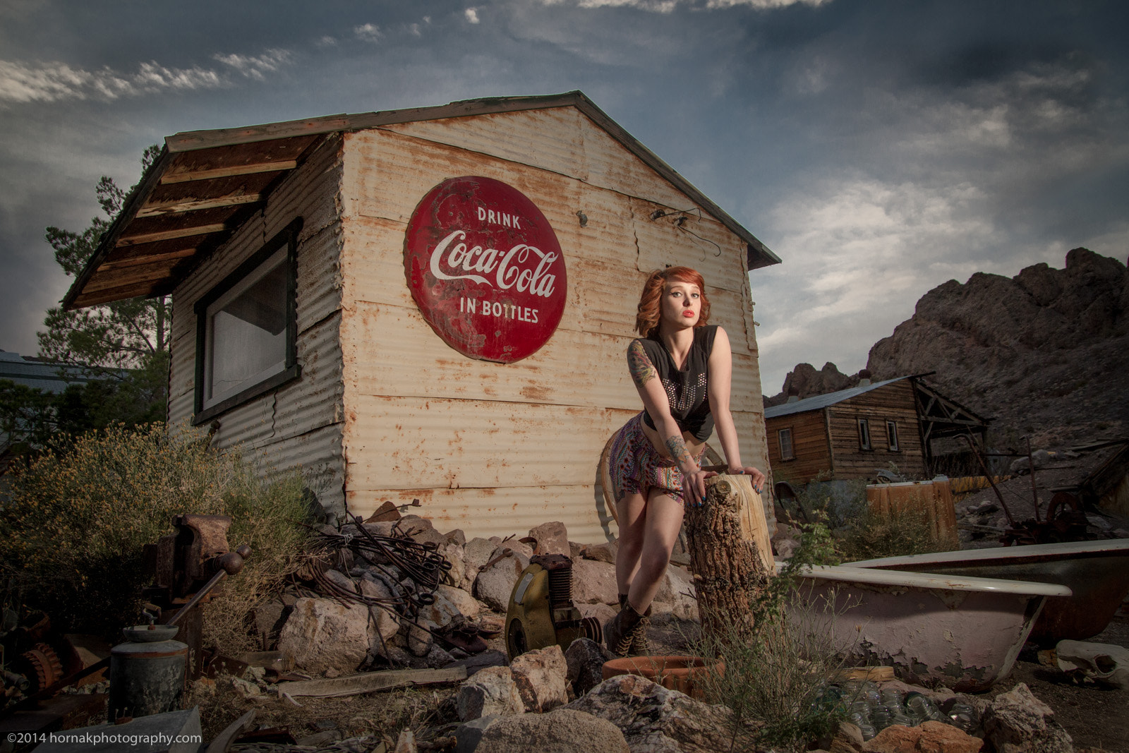 Photograph Coca-Cola Redhead by hornakphoto on 500px