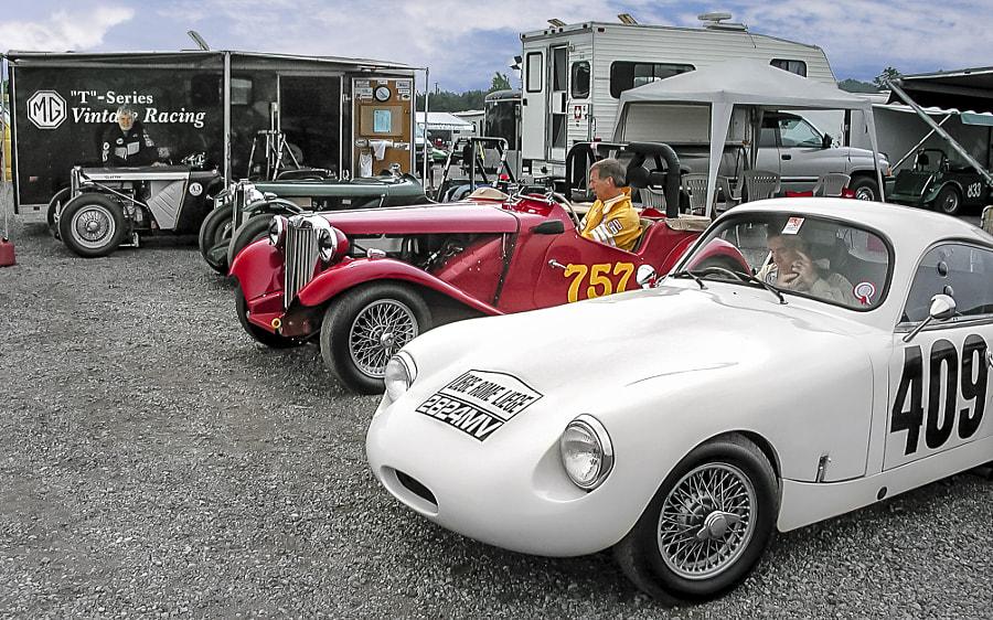 MG T Series Paddock VARAC Mosport
