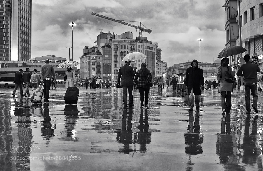 Photograph taksim with wet plains by Alper Doruk on 500px