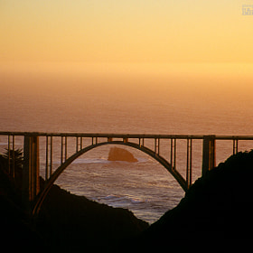 Bixby Bridge at sunset by Lindsay D'Penha (dpenhacreative) on 500px.com