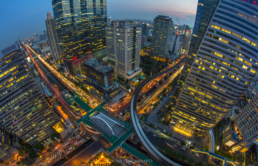 Intersection BKK by Puniest Rojanapo on 500px.com