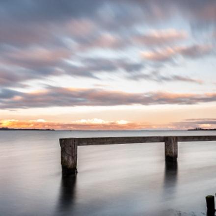 Sunset Zeeland Nederland
