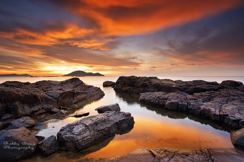 Photograph Golden Sunset by Bobby Bong on 500px