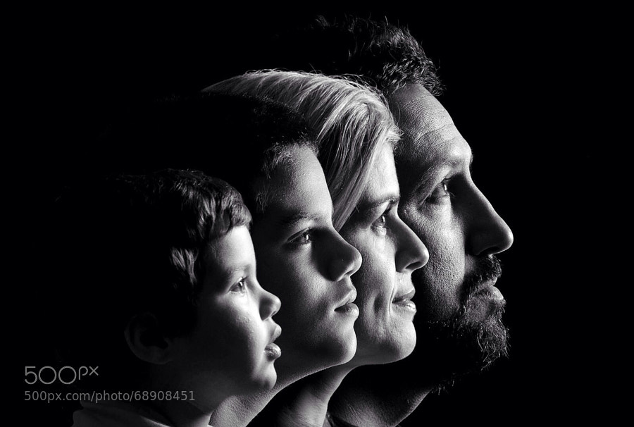 Photograph Family faces by Reginaldo Almeida on 500px