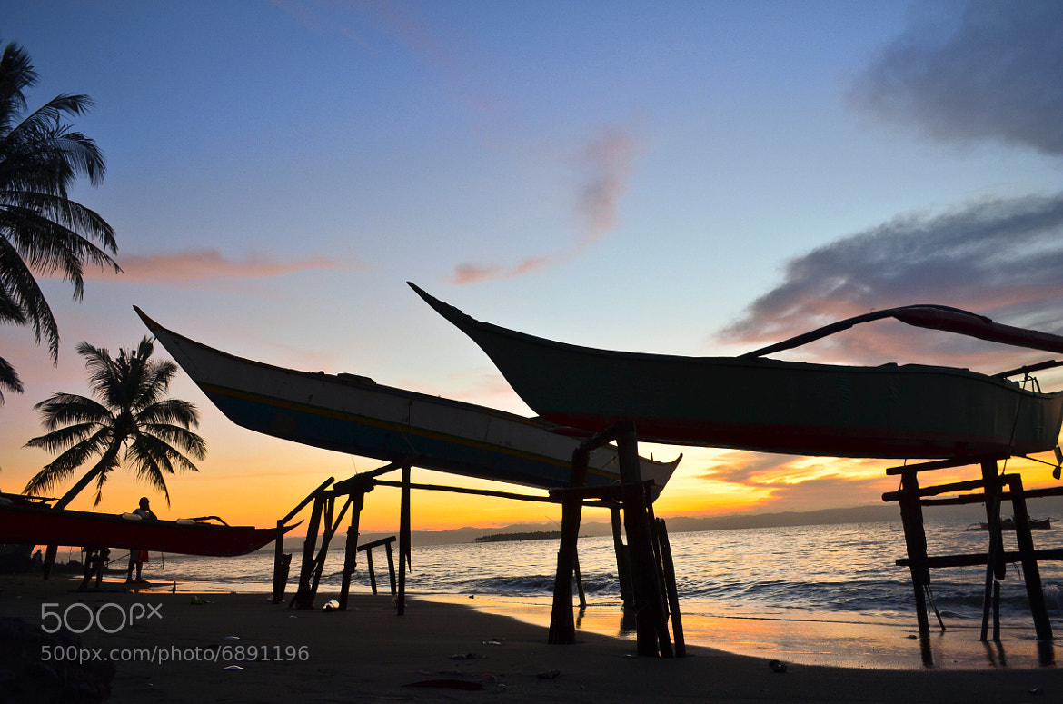 Photograph Boats on stilts by Vey Telmo on 500px