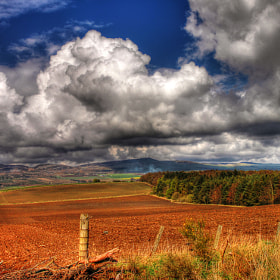 Sidlaws Hills by Hilda Murray (HildaMurray)) on 500px.com