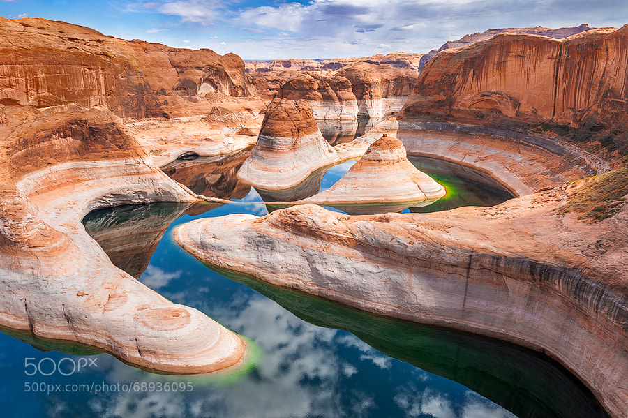 Photograph Reflection Canyon by Yanbing Shi on 500px