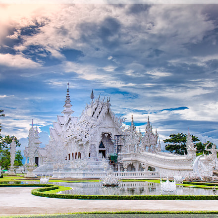 Wat Rong Khun,White Temple,Chiang Rai,thailand