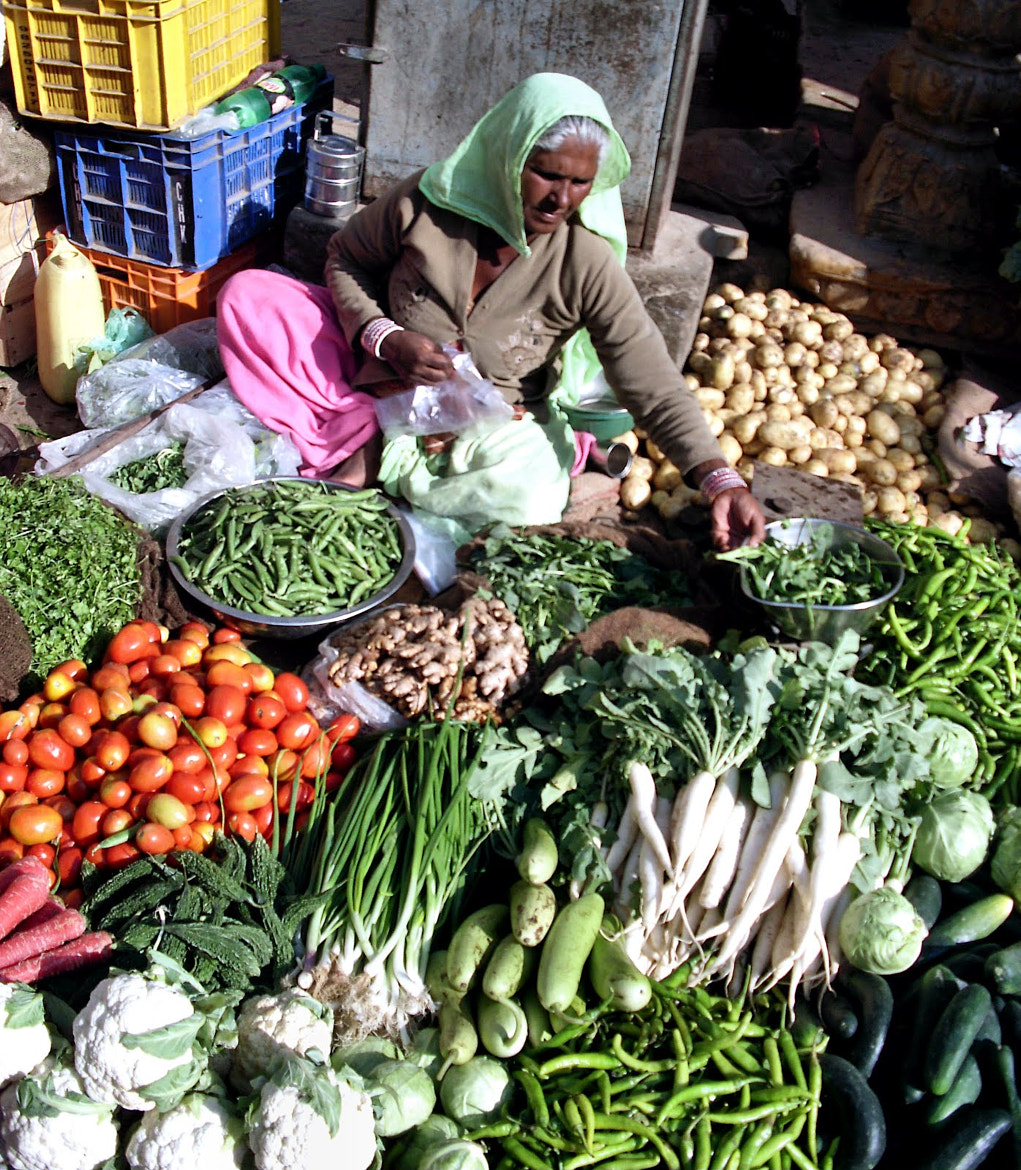 Photograph Indian market by Estetic of Senses on 500px