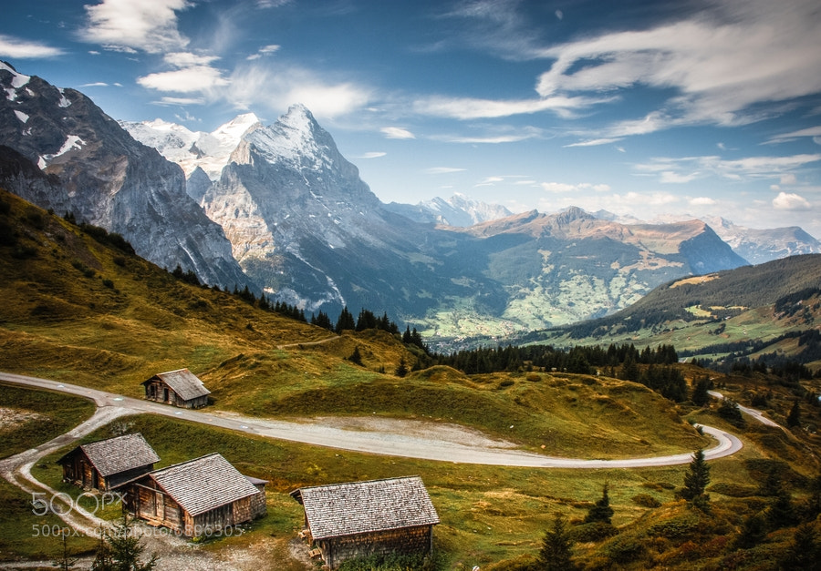Photograph Grosse Scheidegg by Margaret Netherwood on 500px
